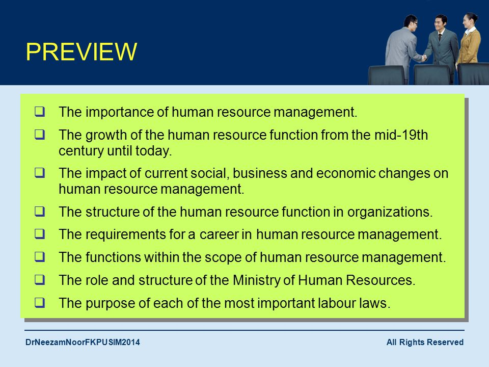 hrm s importance Human resource management (hrm), or human resource development hrm's importance continued to grow during the 1980s for several reasons.