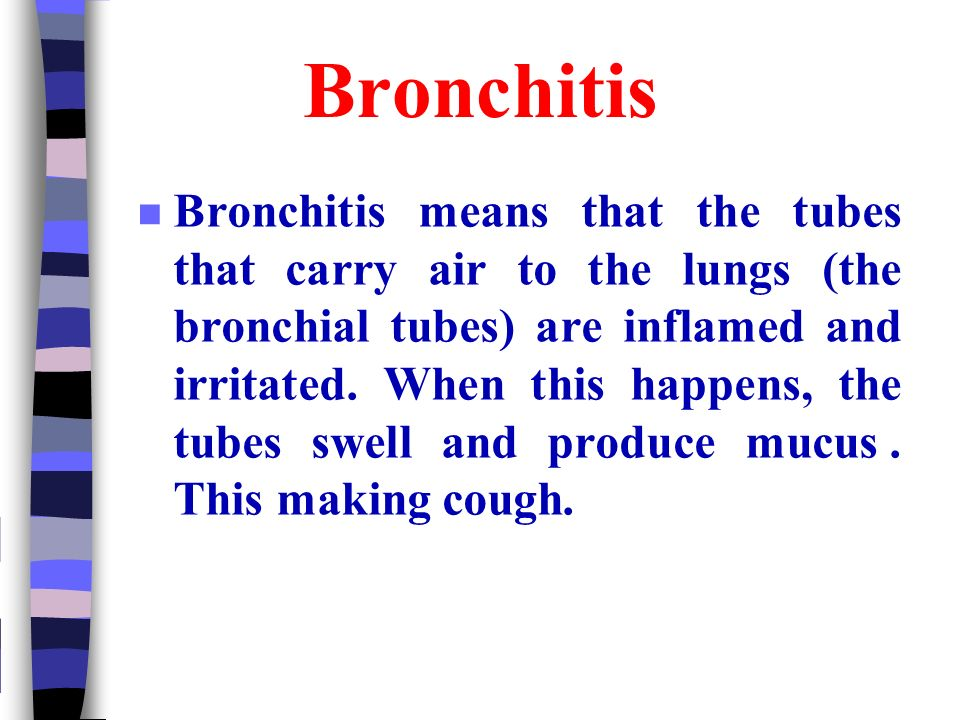 how to clear mucus from bronchial tubes