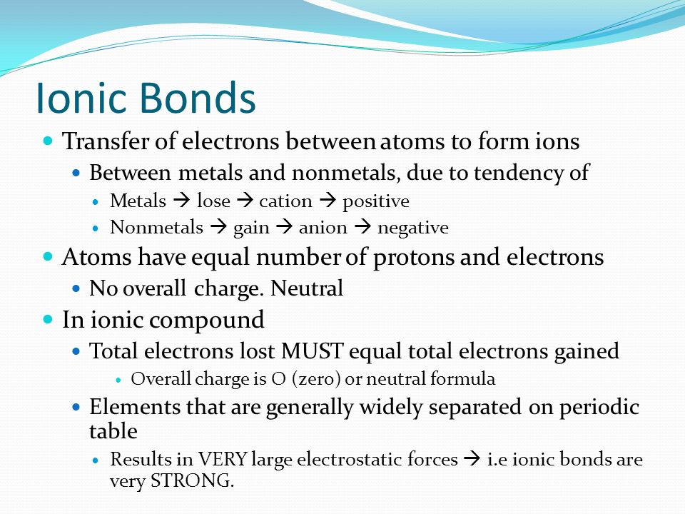CHEMICAL BONDING Chapter ppt download