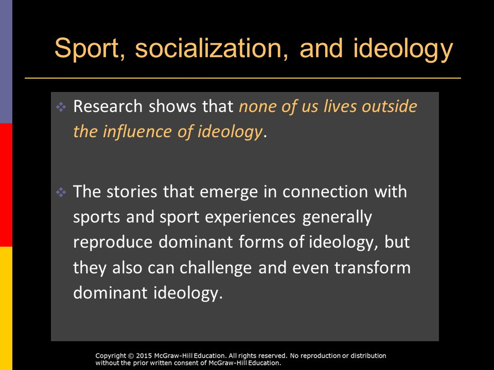 a research on the influence of gender in sports in american society Social influence and gender norms 1  there used to be a time when sports were something that only men  same value and roles in society, differing gender norms .