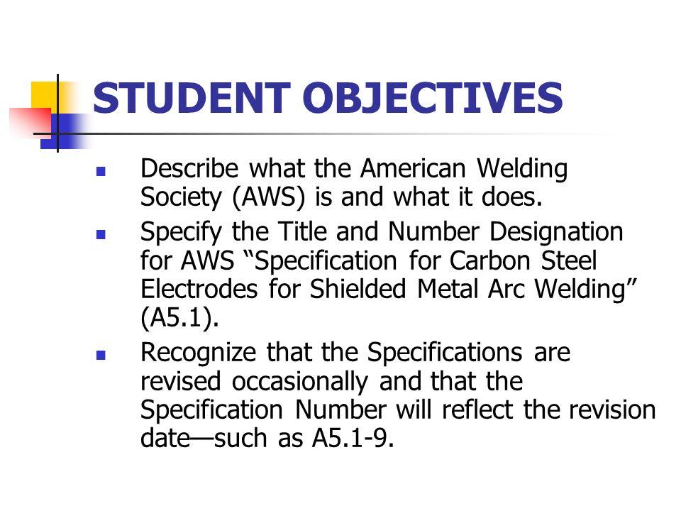 arc welding electrode specification pdf