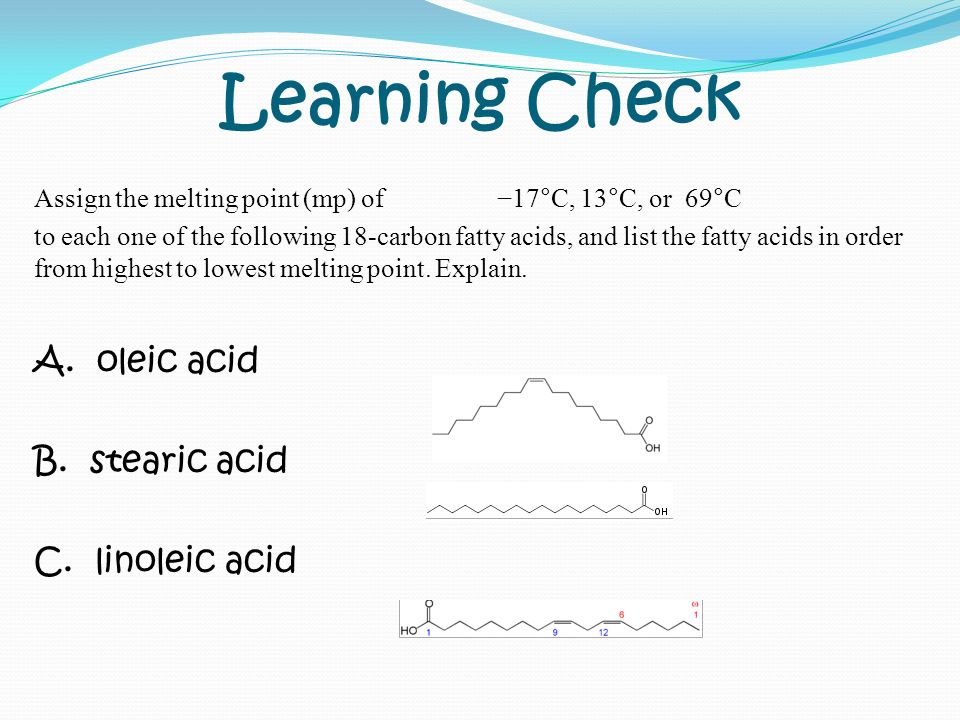 Goals Of The Day Lipids Types Of Fatty Acid Lipids Ppt