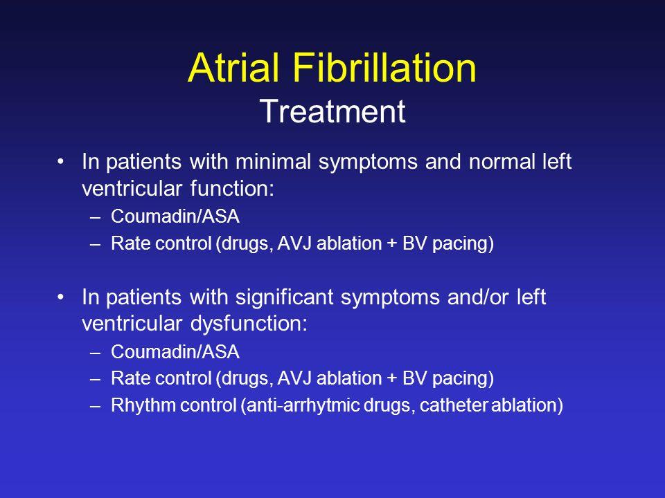atrial fibrillation heart failure guidelines