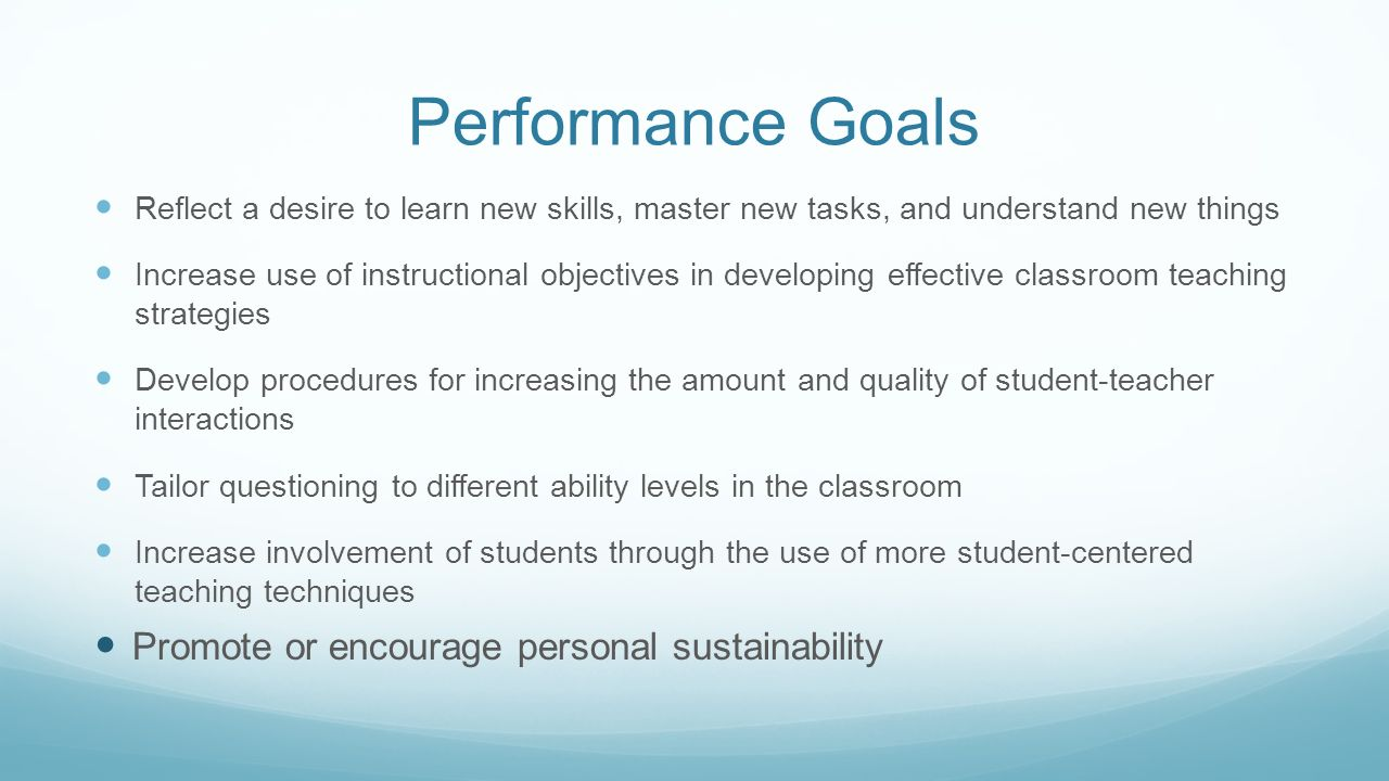 setting your goals for ttess memorial hs training