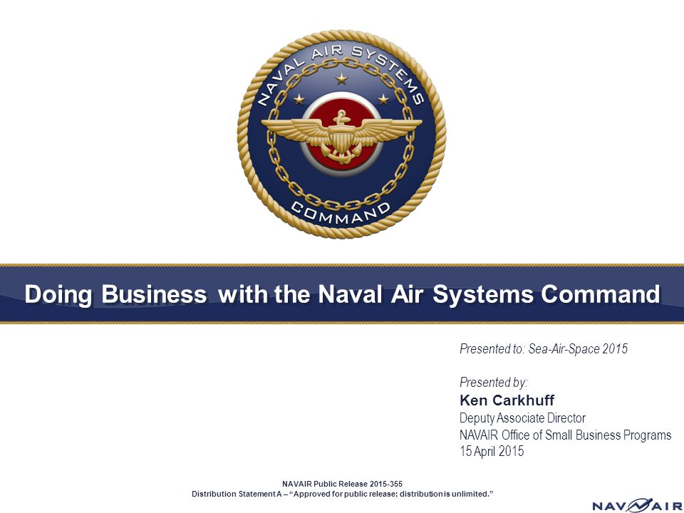 NAVAIR/NAWCWD Networking Session When:... - Cal Poly SLO Career ...