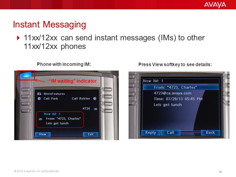 Instant Messages With Others : Charles walter steve warren paddy cush ppt download