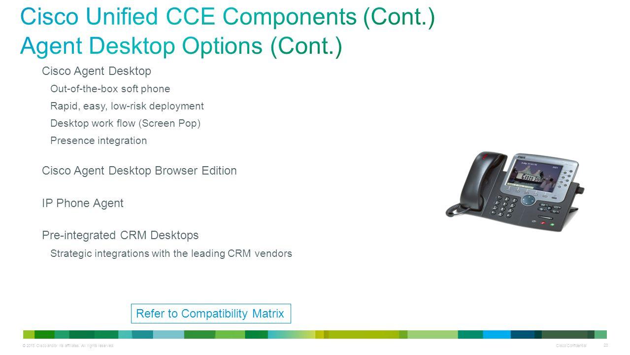Summary -> Cisco Pcce Compatibility Matrix - stargate-rasa info