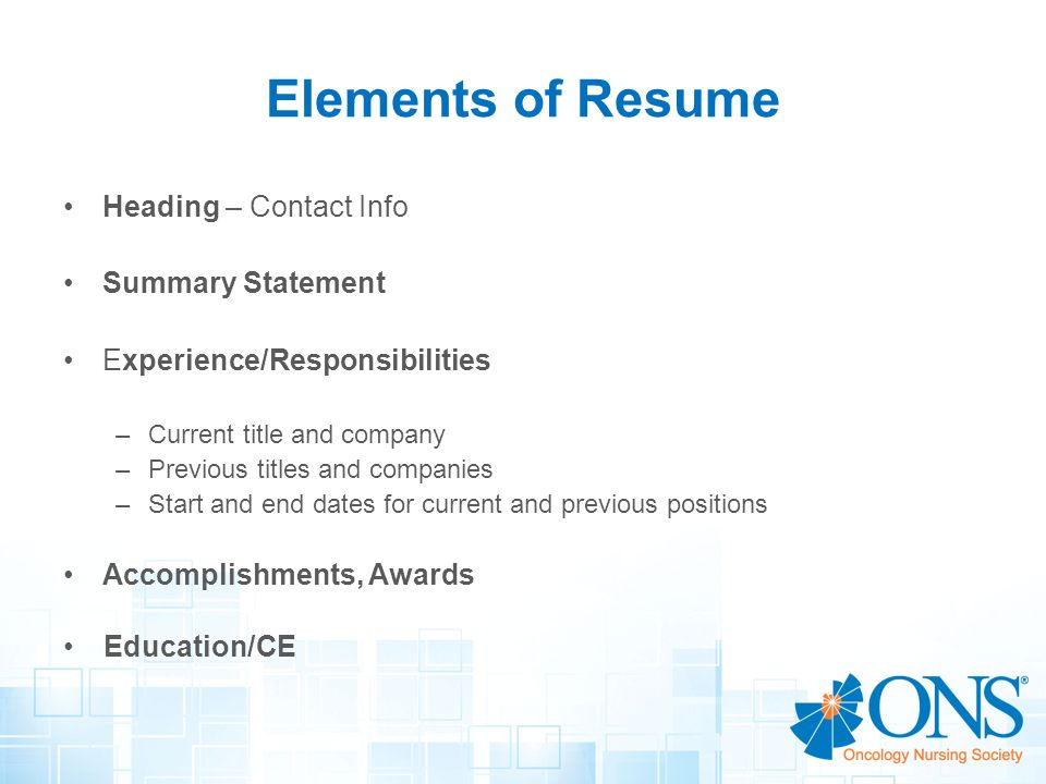 resume writing workshop creating a winning resume ppt