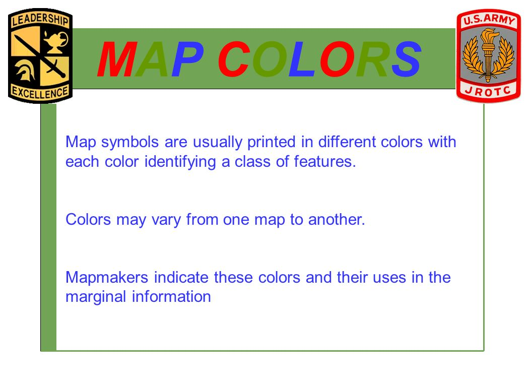 Jrotc introduction to maps ppt video online download 16 map biocorpaavc