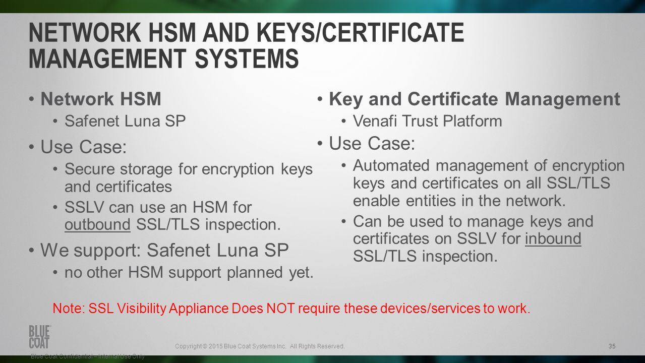 Ssl visibility solution ppt video online download network hsm and keyscertificate management systems xflitez Images