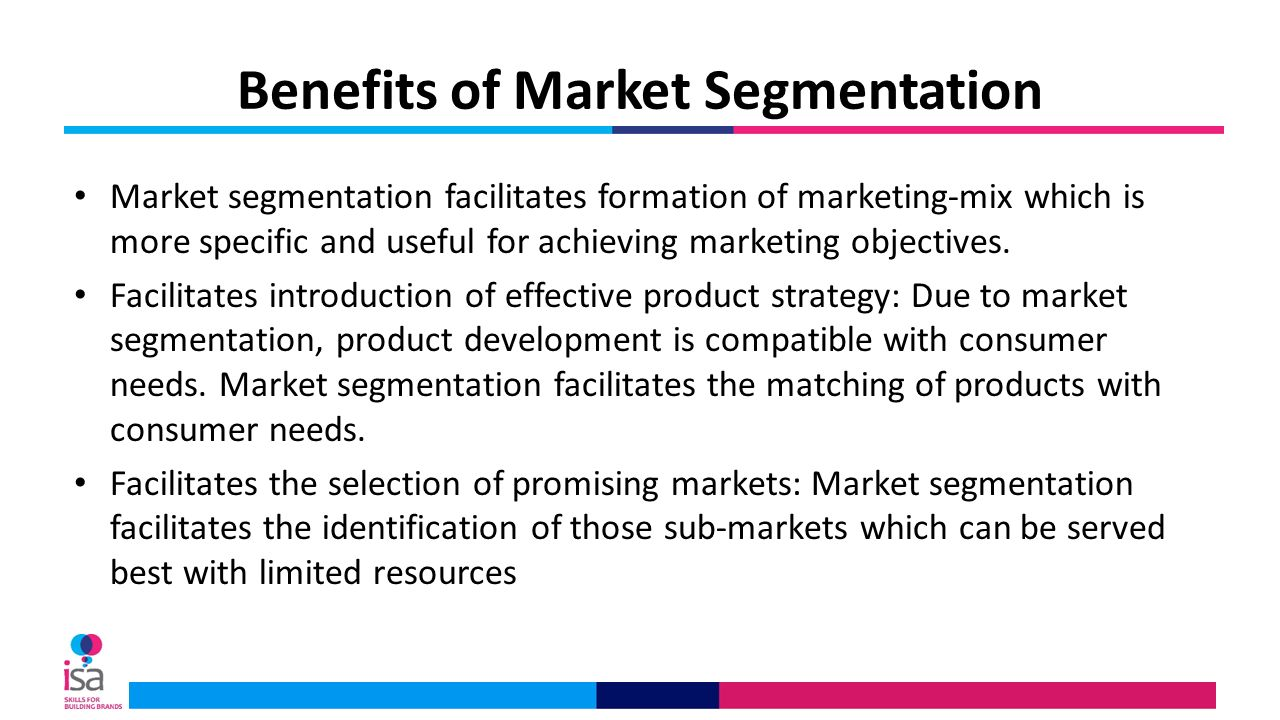an introduction to benefit segmentation Formulation the model is illustrated with a detailed case study of the air  compressor market introduction the question of how to segment industrial  product.