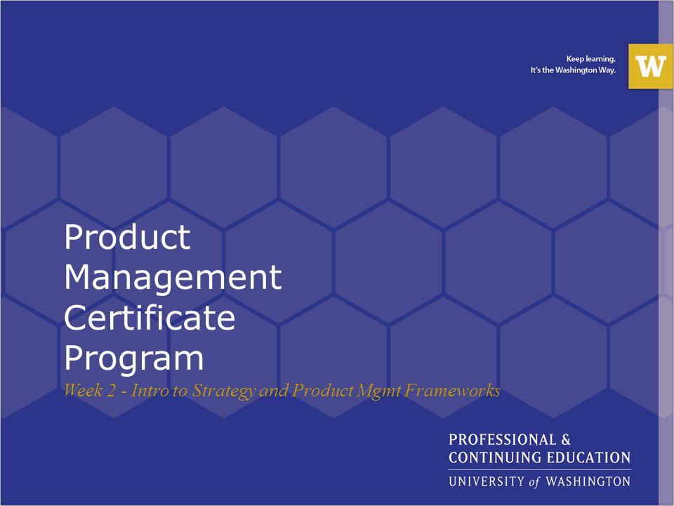 Product Management Certificate Program - ppt download