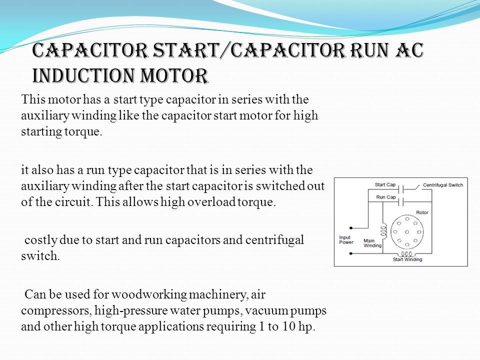 Dayton motors wiring diagram three speed motor wiring for Ac motor start capacitor