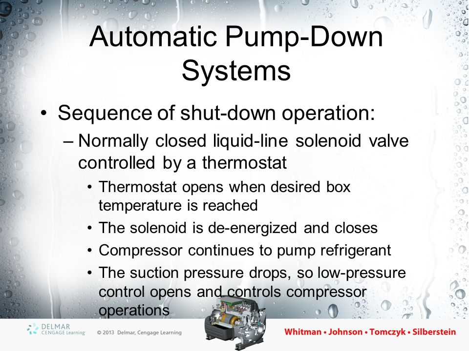 Automatic+Pump Down+Systems section 5 commercial refrigeration ppt video online download refrigerant pump down wiring diagram at reclaimingppi.co