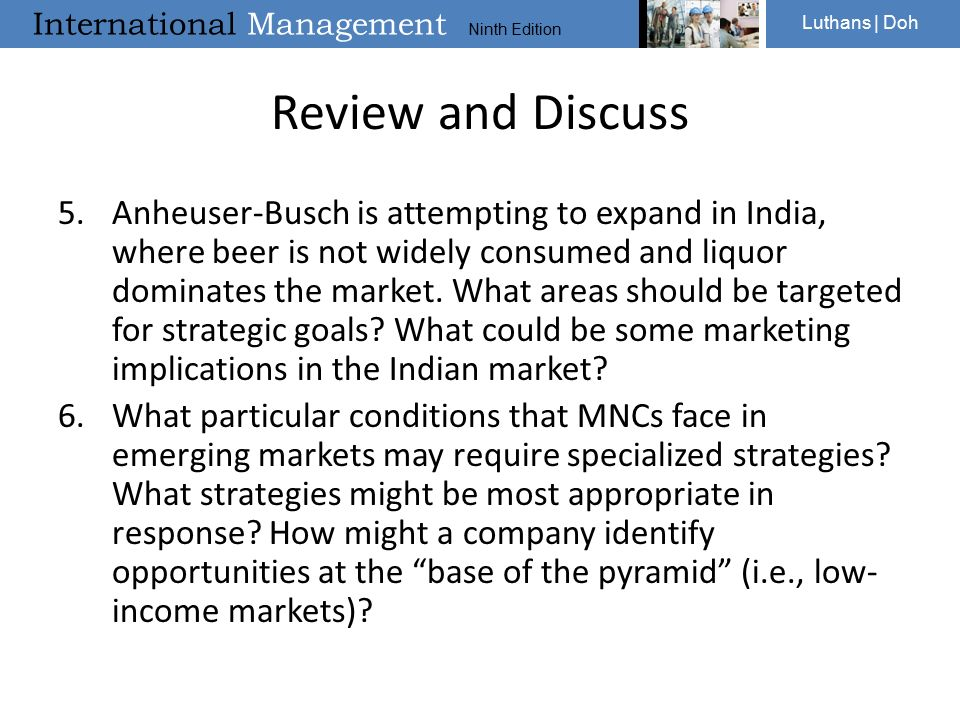 anheuser busch pricing strategy Performed by: tech investments  strategy anheuser-busch's business strategy is reliant to its ability to offer  price, or image, anheuser busch covers all fronts.