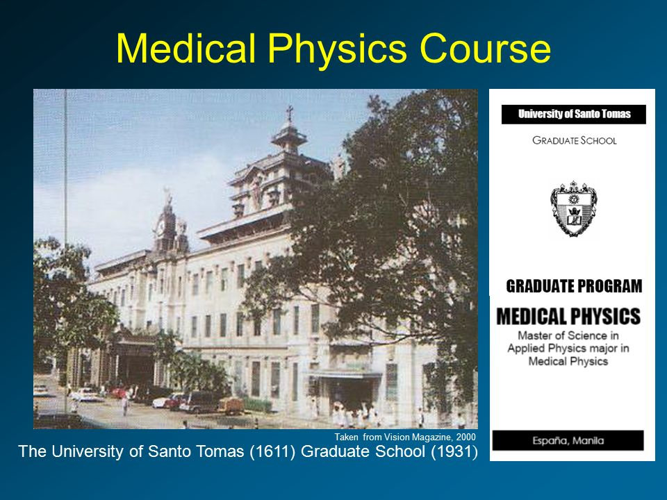 university of santo tomas graduate school The antoninus journal (issn: 2423-3084) is a multidisciplinary journal published by the graduate school of the university of santo tomas (manila, philippines) it was first released in february 2015 and is considered as the successor of ad veritatem, which used to be the official scholarly publication of the ust graduate school.