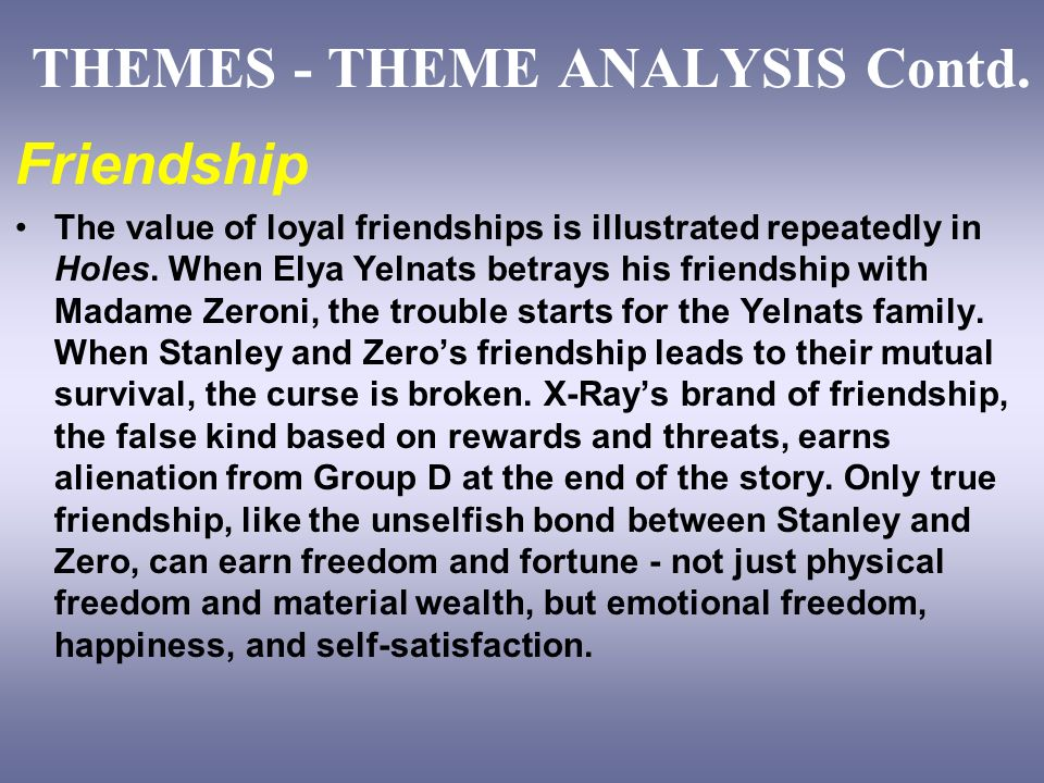 analysis of the friendship in holes The friendship of sherlock holmes and dr watson, conan doyle, friend, friends.