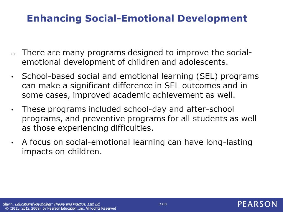 CHAPTER 3: Social, Moral, and Emotional Development