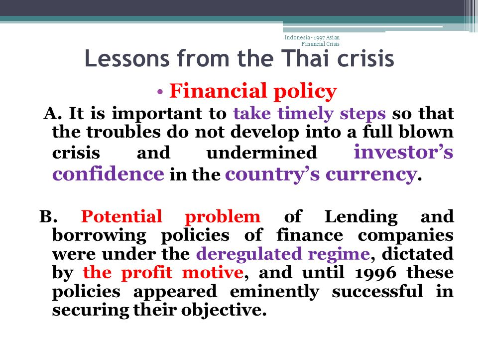 Asian currency crisis of 1997