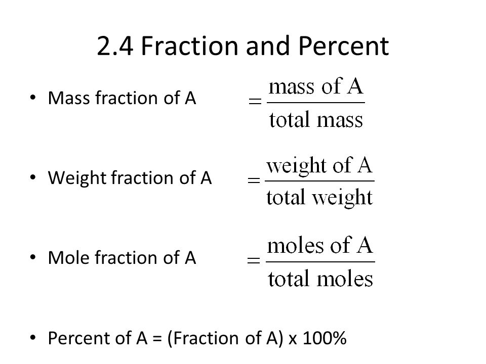 unit 2 lecture 3 mass percent Unit iv - stoichiometry of formulas and equations lecture 11 lecture 11 - the mole mass percent from the chemical formula.