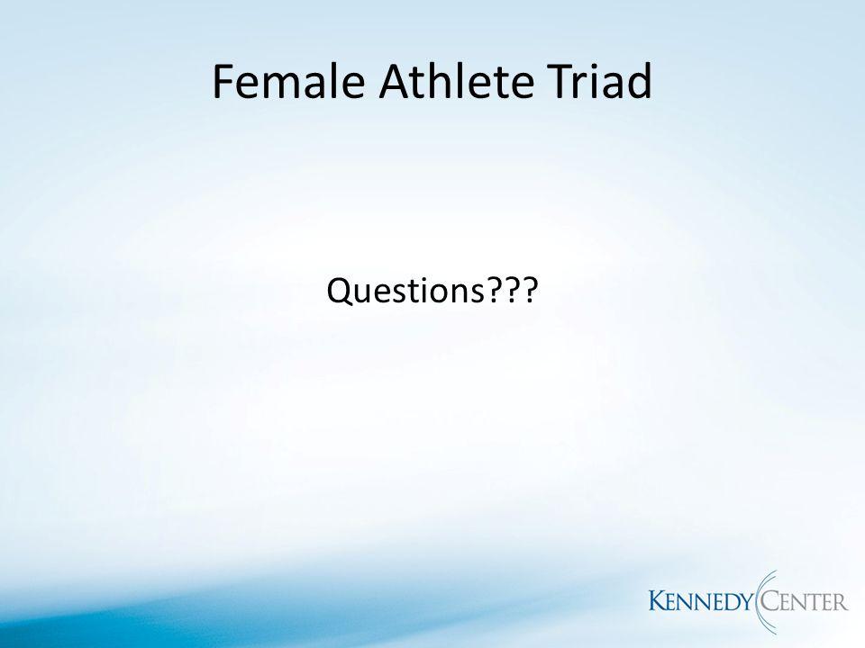 how to help female athlete triad