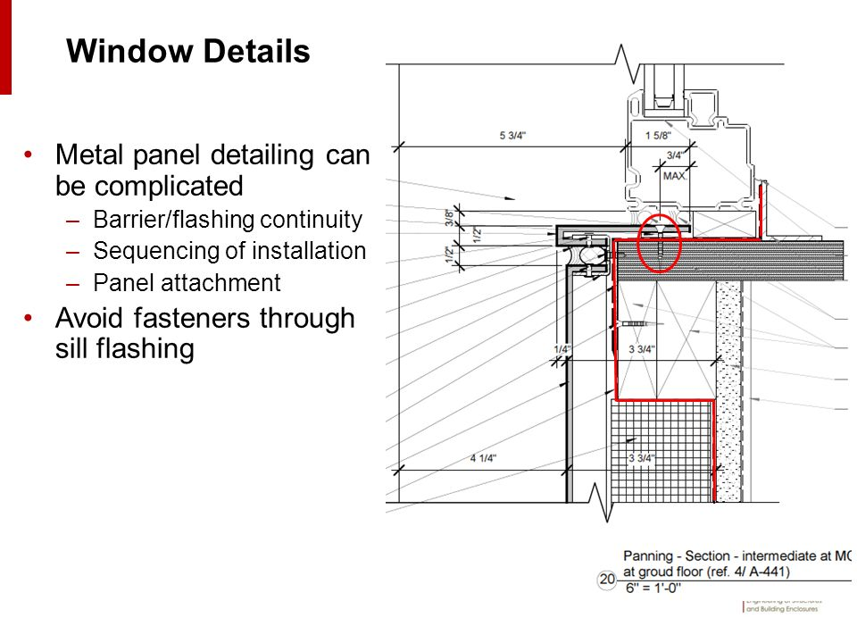Metal Panel Details : The ins and outs of metal rainscreen wall systems ppt
