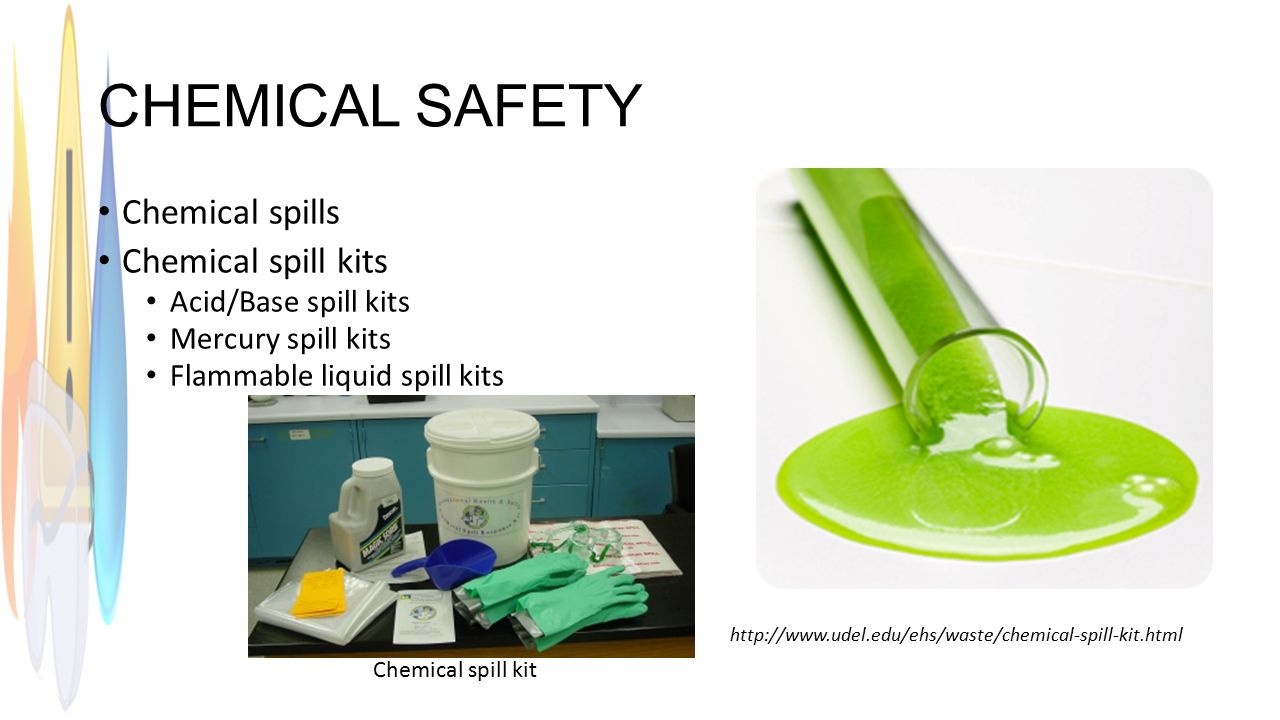 how to clean up an acid spill in the lab
