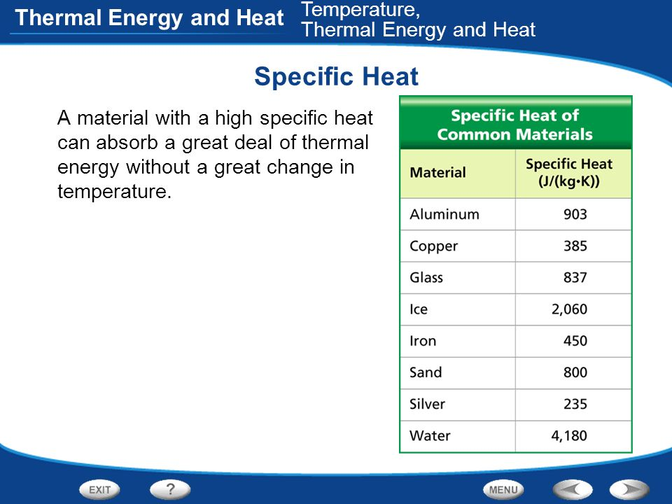 Table of Contents Temperature, Thermal Energy, and Heat - ppt download