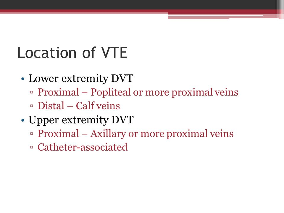 Distal dvt treatment guidelines - Coupons for xarelto