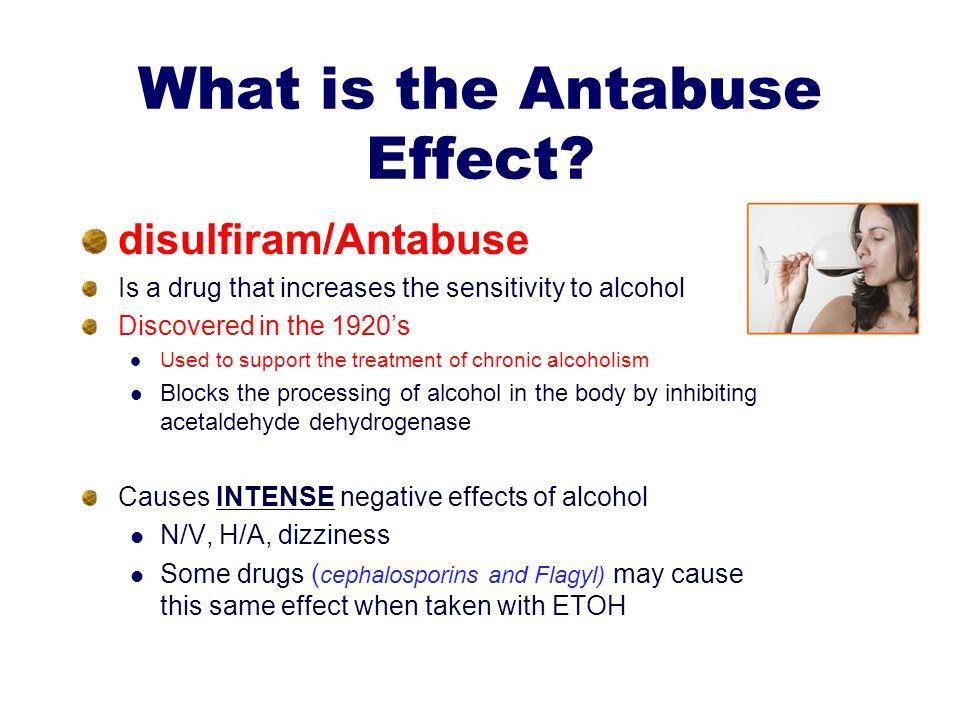 Antabuse Disulfiram Side Effects