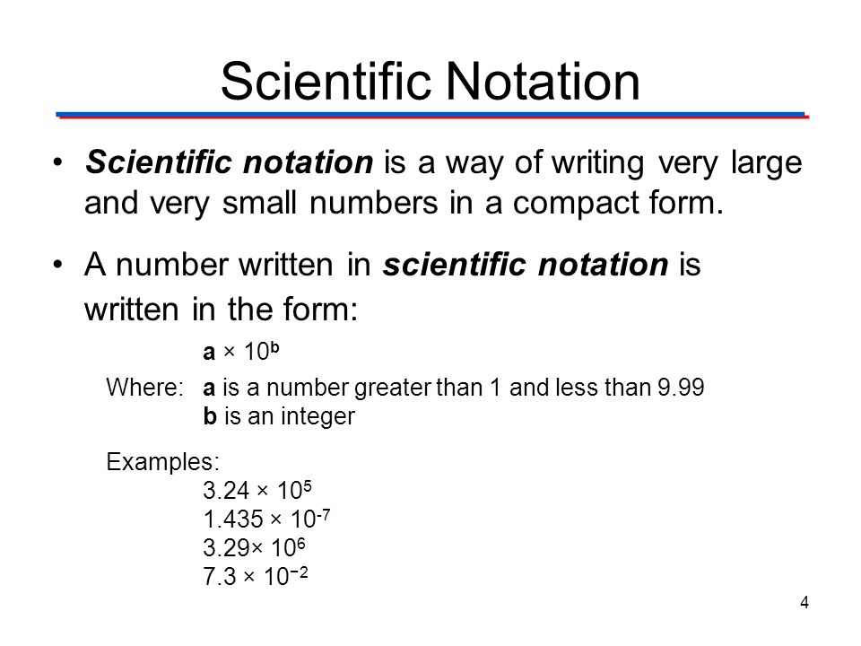 how to change a trendline to scientific notation