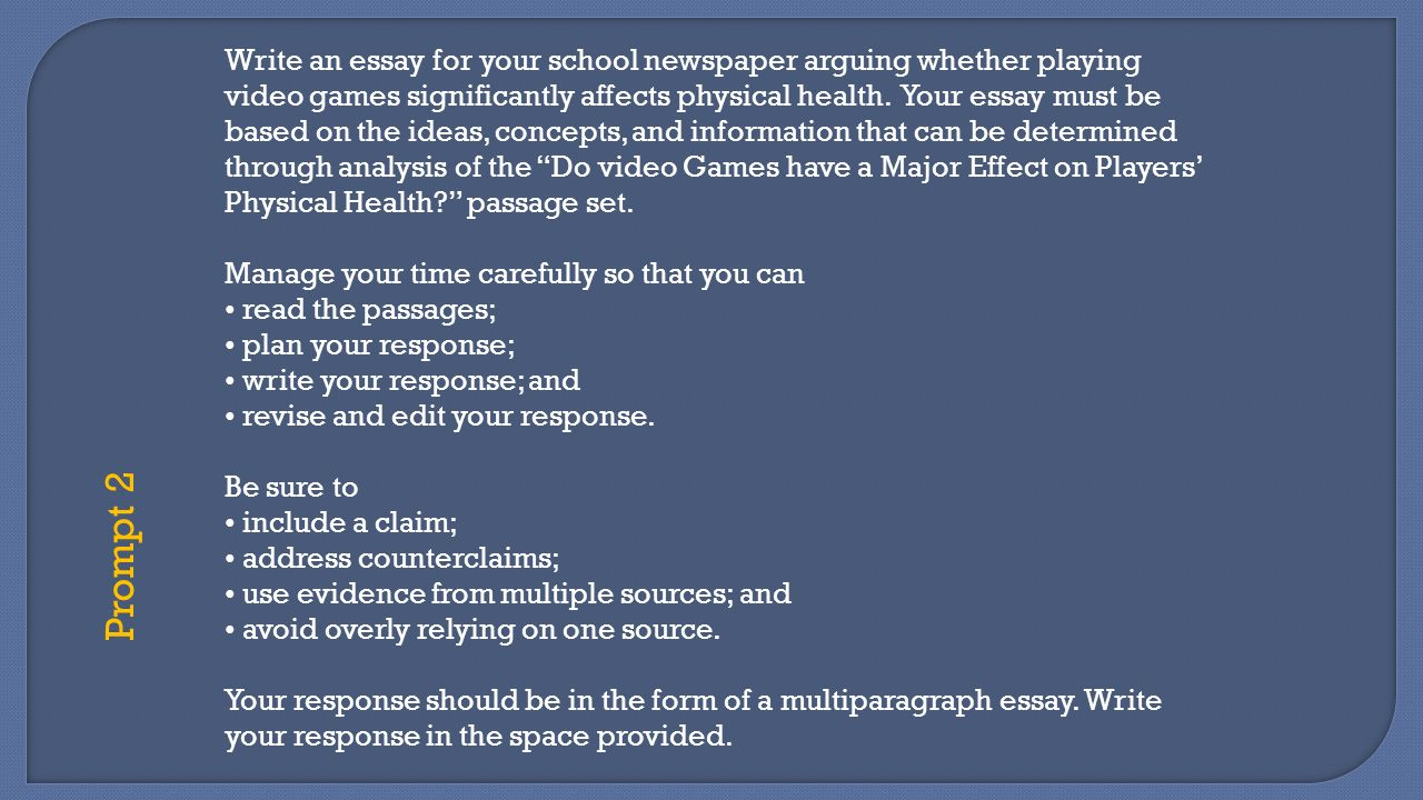azmerit overview ppt video online  write an essay for your school newspaper arguing whether playing video games significantly affects physical health