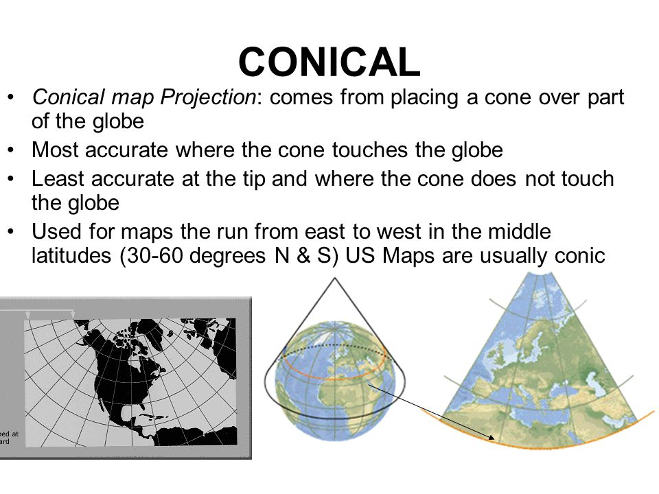 MAP PROJECTIONS To Find Just The Right Map To Use Ask Yourself - Accrate map of us