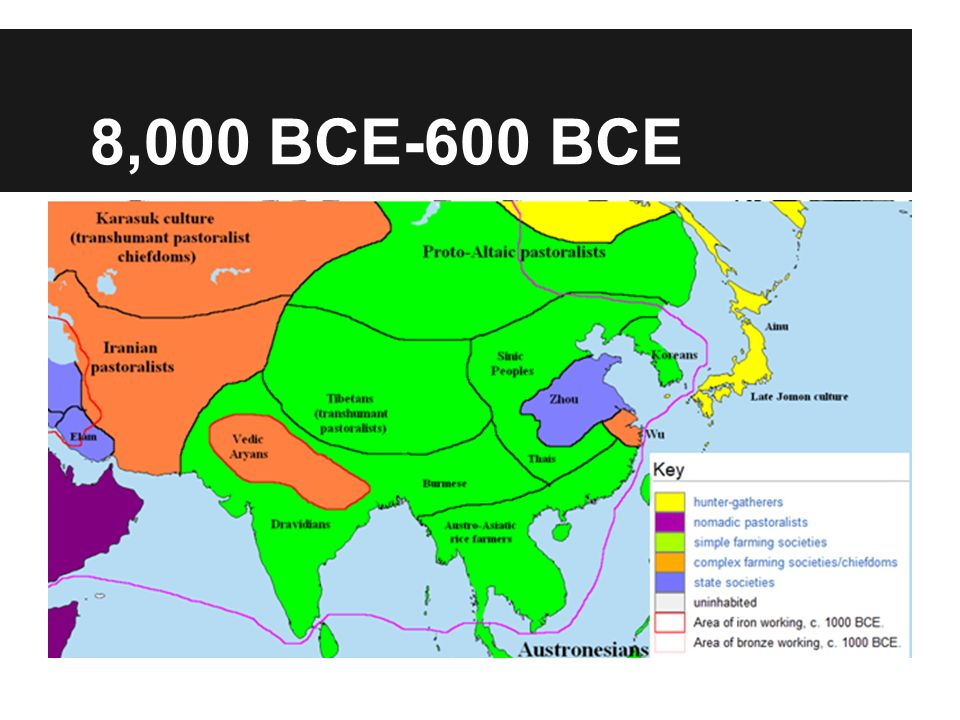 Foundations: c. 8000 B.C.E.–600 C.E.