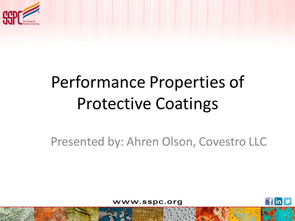 Performance Properties of Protective Coatings