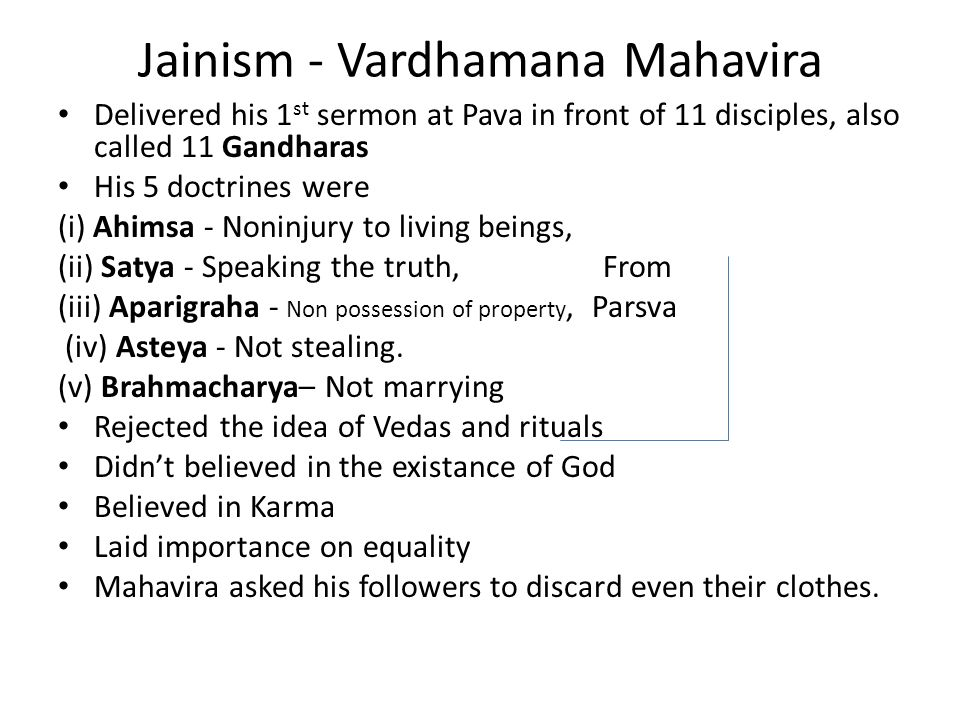 Comparison of the Concept of Karma in Hinduism, Jainism & Buddhism