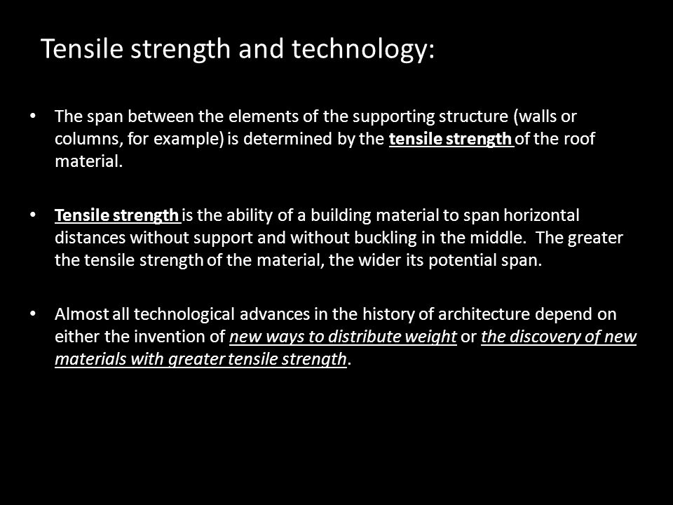 Chapter 15 architecture ppt video online download for How far can granite span without support