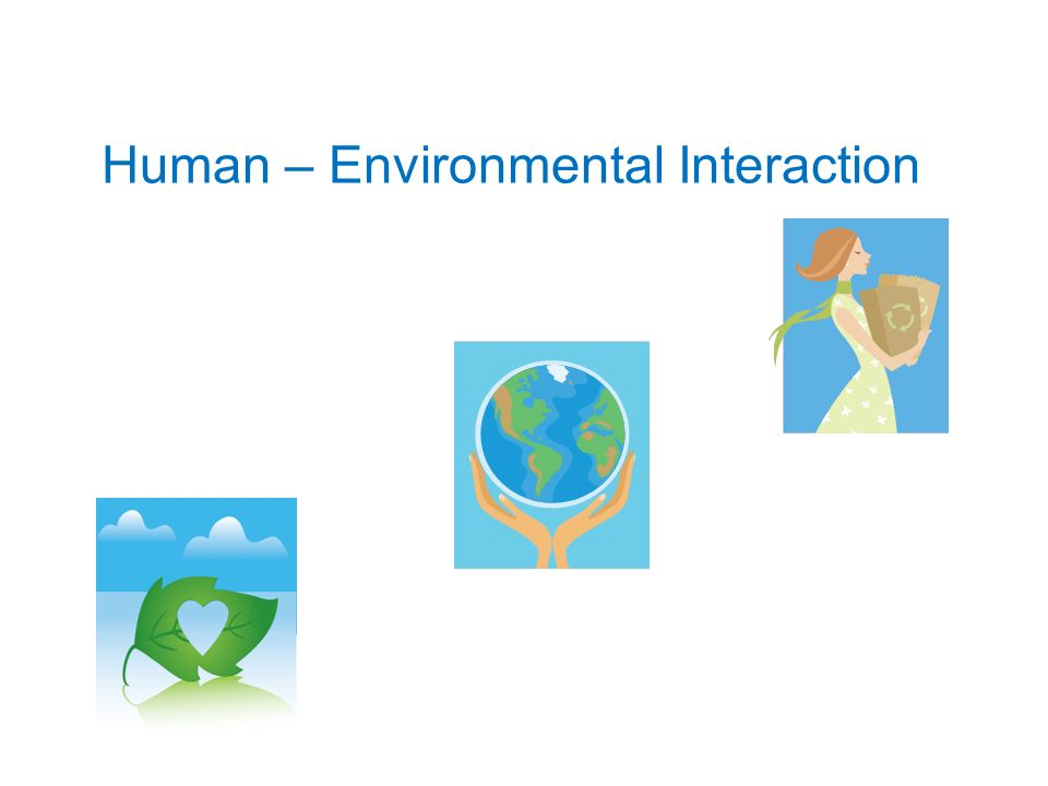 Human – Environmental Interaction - ppt download