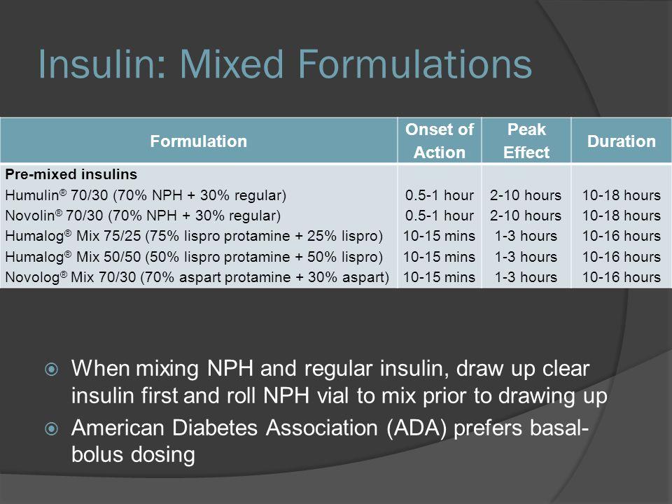 Insulin Room Temperature Stability