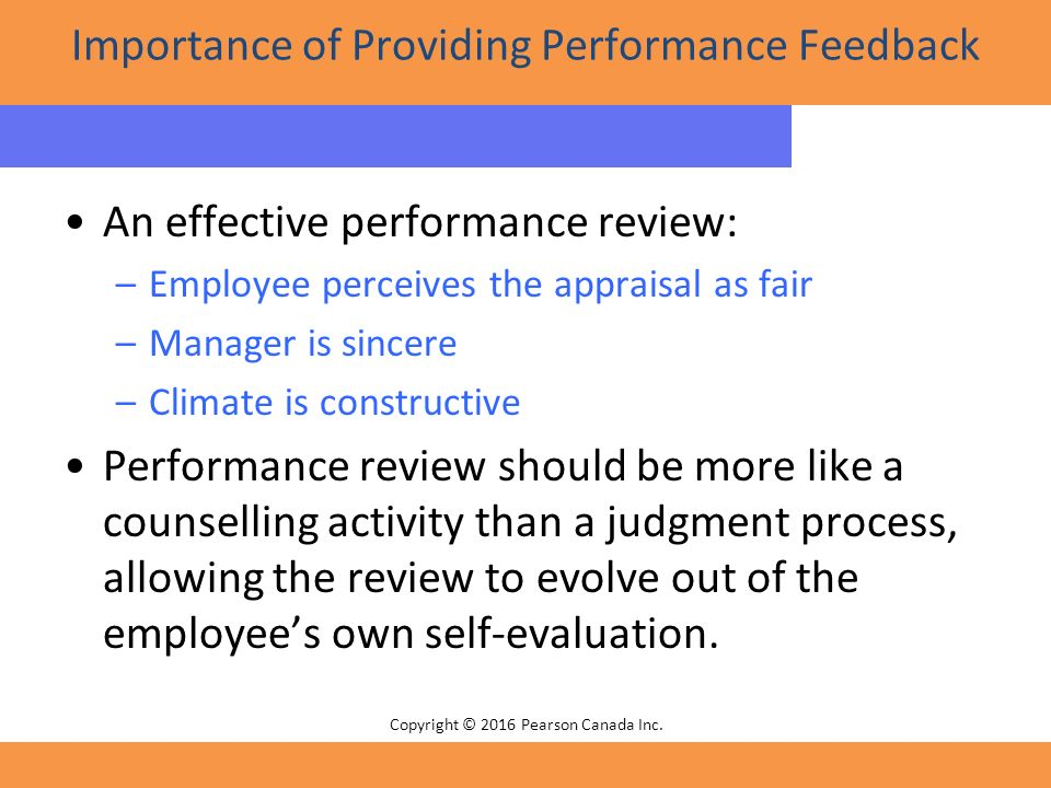 adiscussion on the importance of performance appraisal Performance appraisal and  employees can assess their performance in preparation for the appraisal  guide and document a discussion between a manager and an.