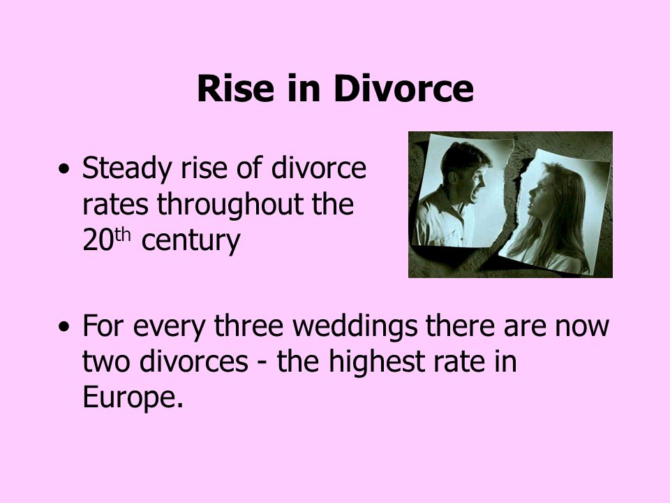 rising divorce rates essay Access to over 100,000 complete essays and term papers when looking at the high divorce rates in america (military divorce rates on the rise.