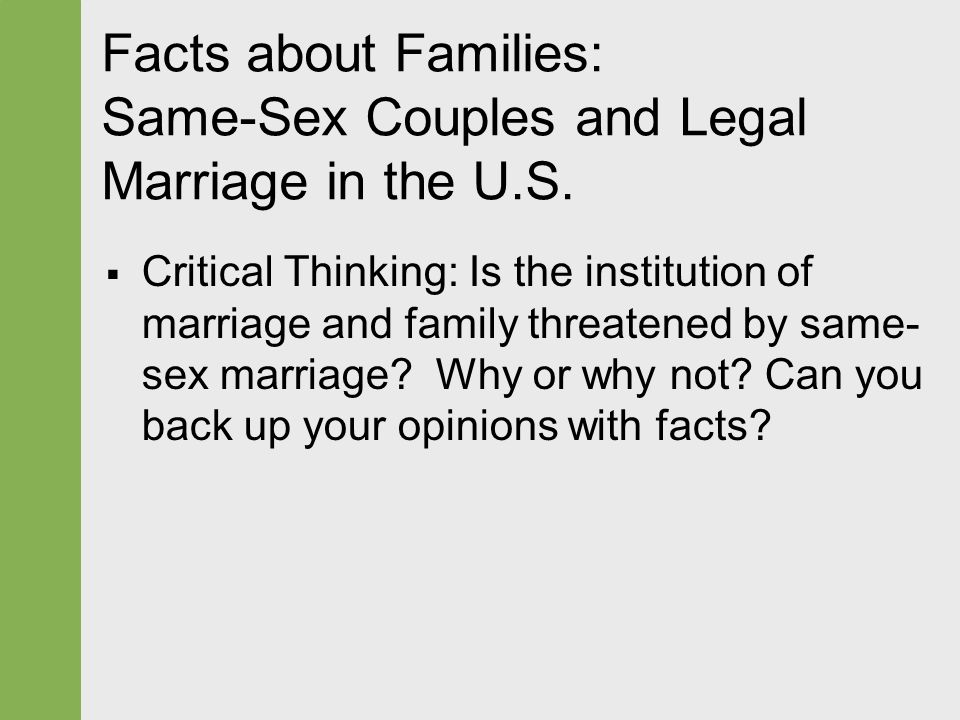 Gay Marriage Facts & Statistics Love and Pride