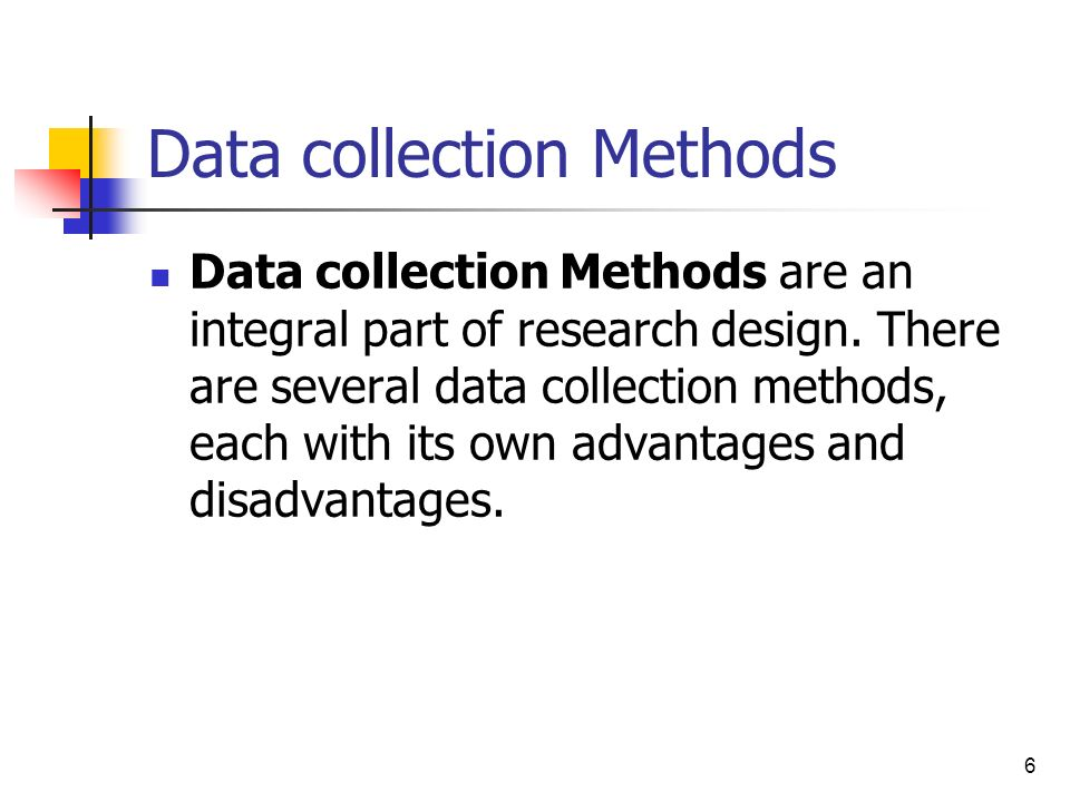 Questionnaire Method of Data Collection : Advantages and Disadvantages
