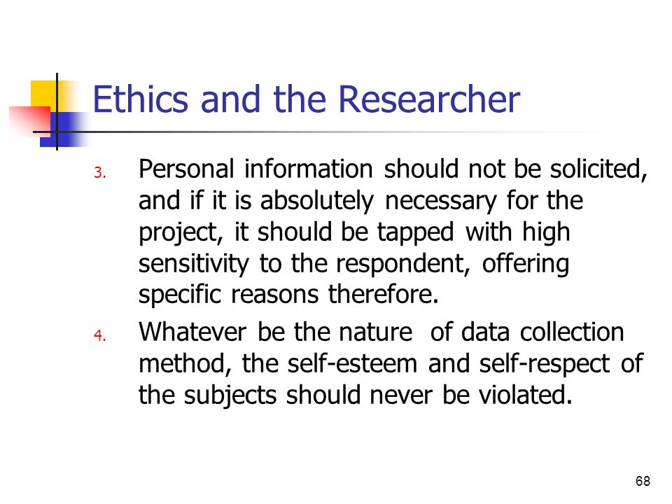 ethics of collection of personal information Unauthorized transmission and use of personal consented to the collection and use of their personal data and personal information as part of.