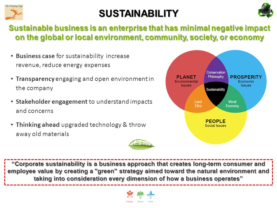 The true cost benefits of a sustainable business