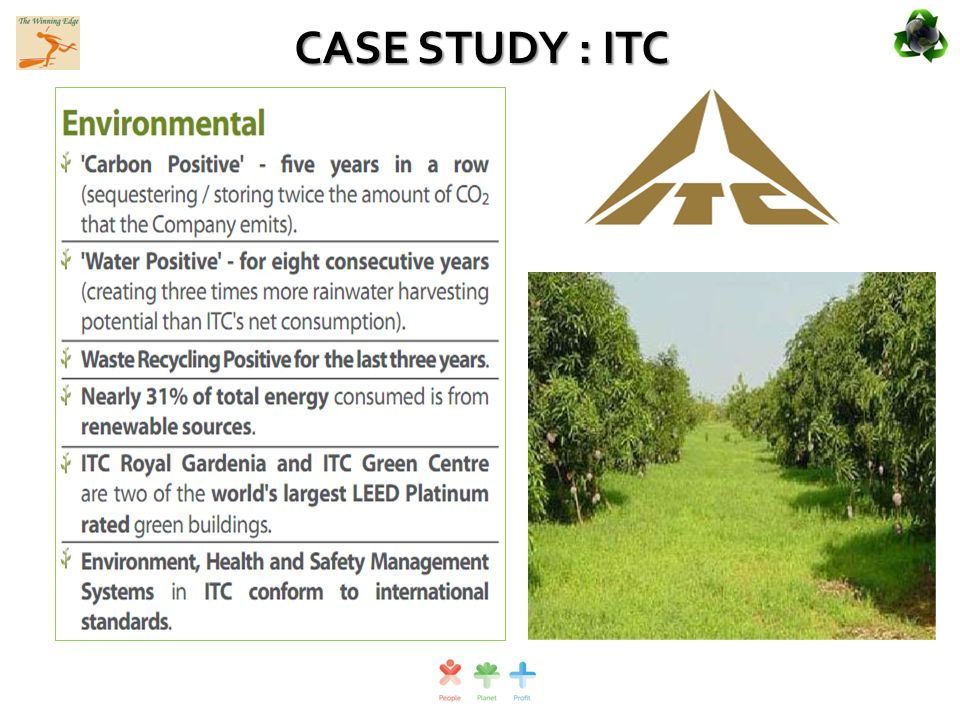 case examine about itc