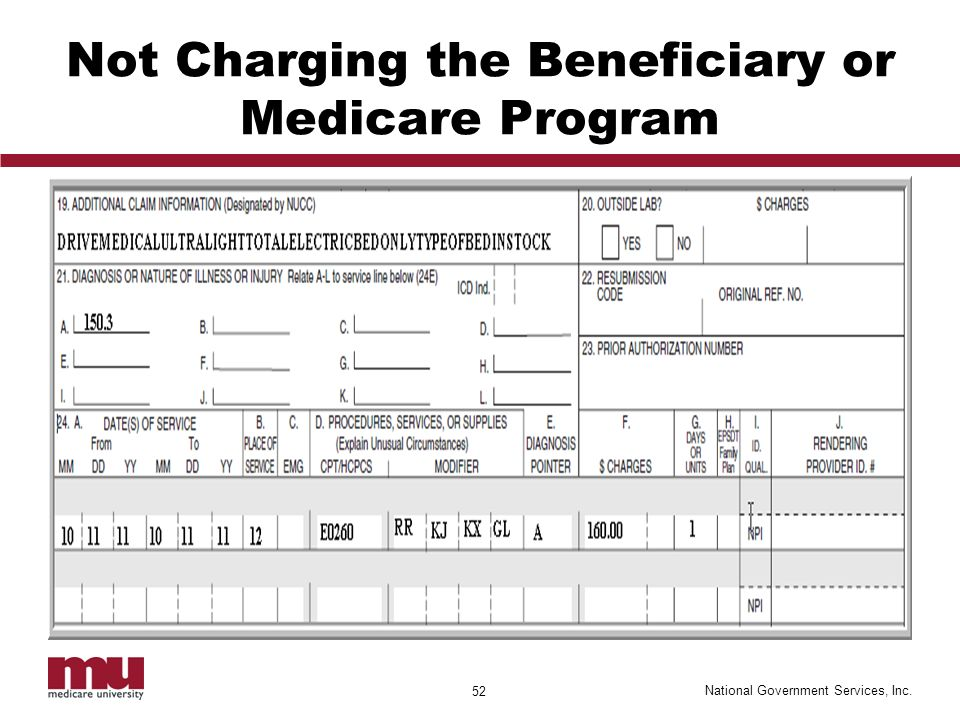 Bill Medicare Correctly the First Time to Prevent Unnecessary ...