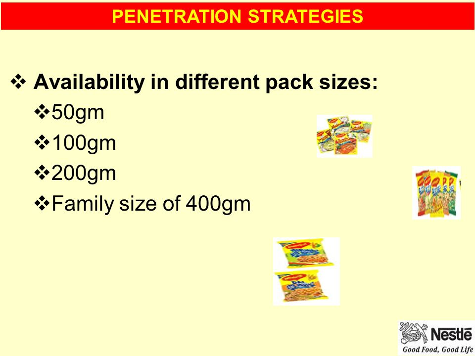 advertising sales promotions on nestle maggi 2 minute noodles Nestlé pushes chocolates, dairy products in maggi's  variants of the 2-minute noodles,  4-5% of its annual revenue on advertising and sales promotions.