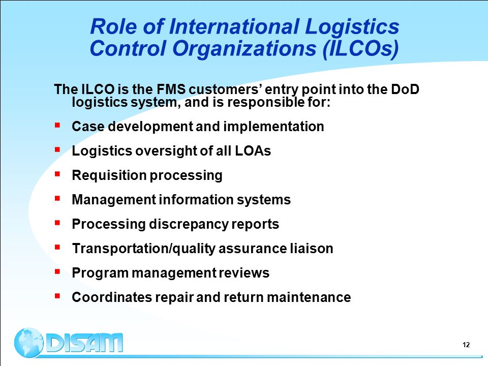 international logistics systems