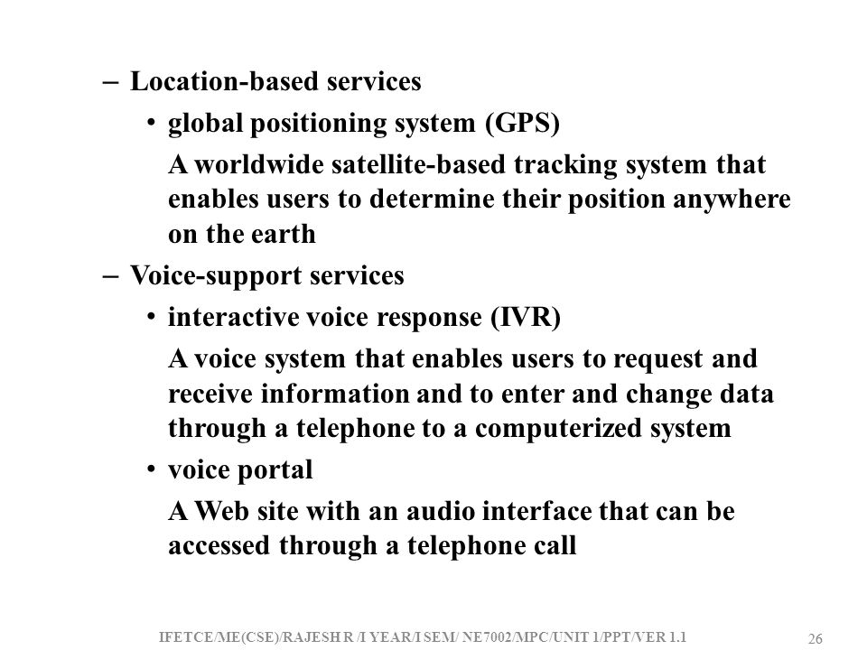 Location-based services global positioning system (GPS)